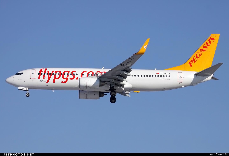 TC-AAV - Boeing 737-82R - Pegasus Airlines