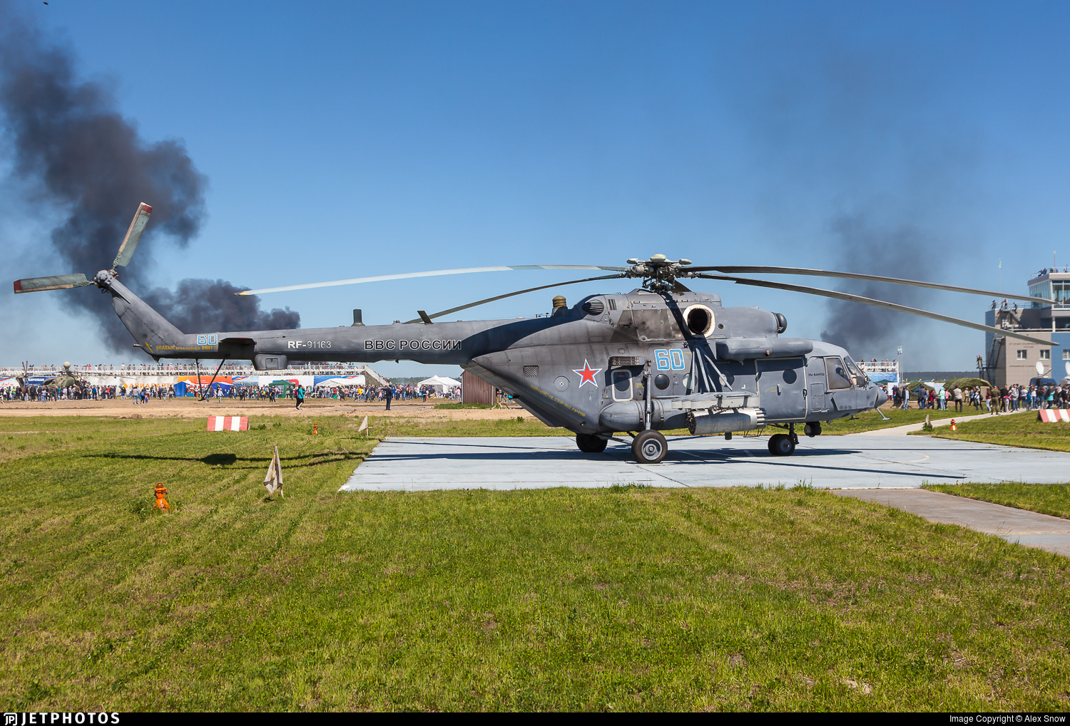RF-91163 - Mil Mi-8AMTSh Hip - Russia - Air Force