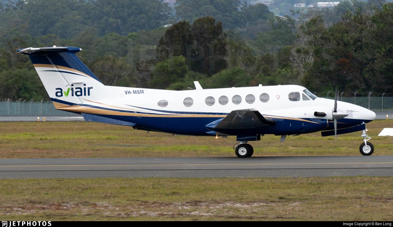 VH-MSM - Beechcraft B200 Super King Air - Aviair