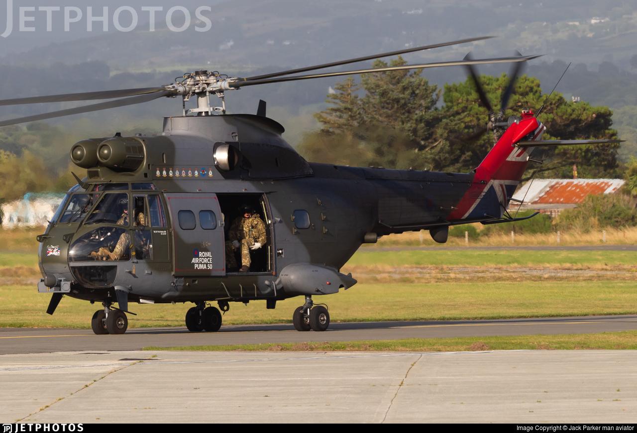 XW224 - Westland Puma HC.2 - United Kingdom - Royal Air Force (RAF)