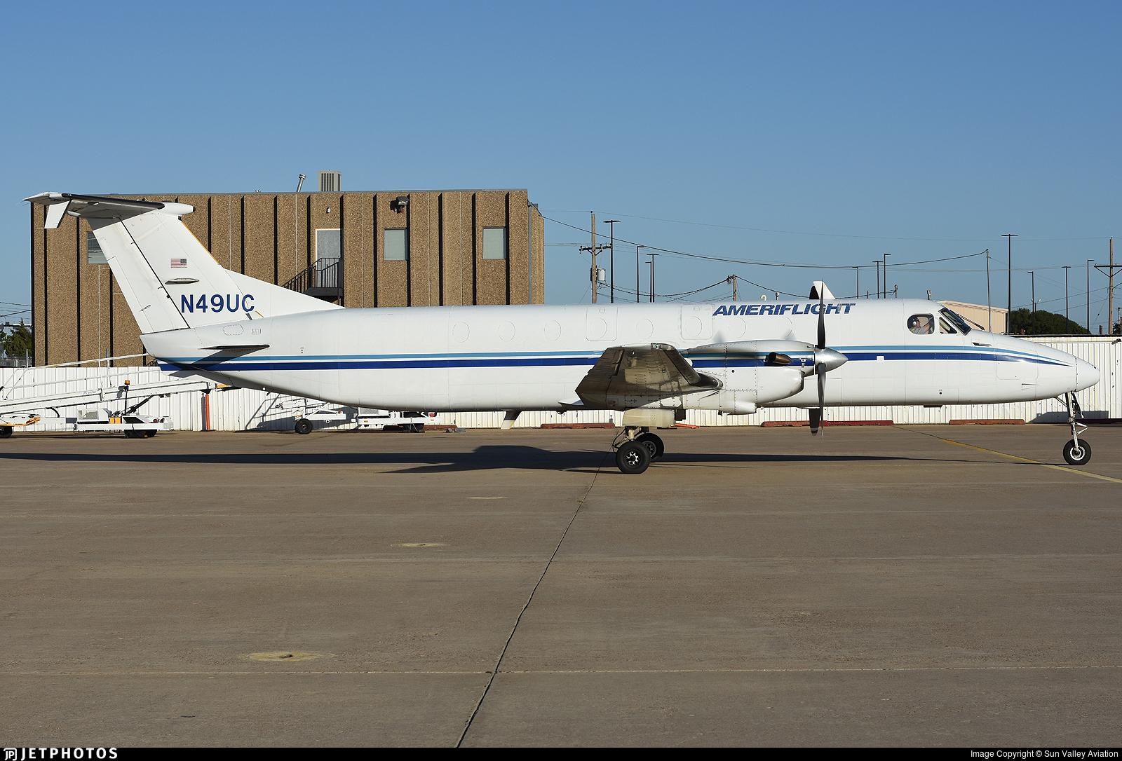 N49UC - Beechcraft 1900C-1 - Ameriflight
