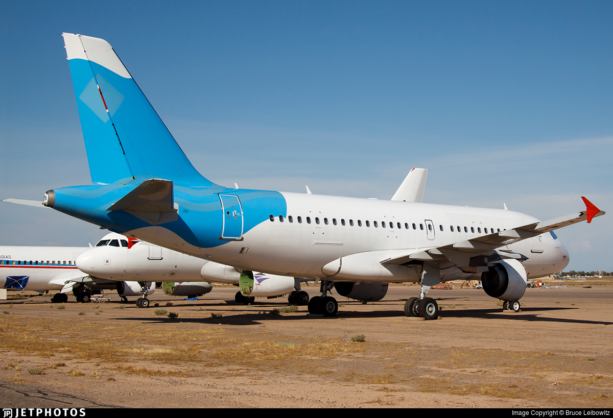 N497SR | Airbus A319-111 | Untitled | Bruce Leibowitz | JetPhotos