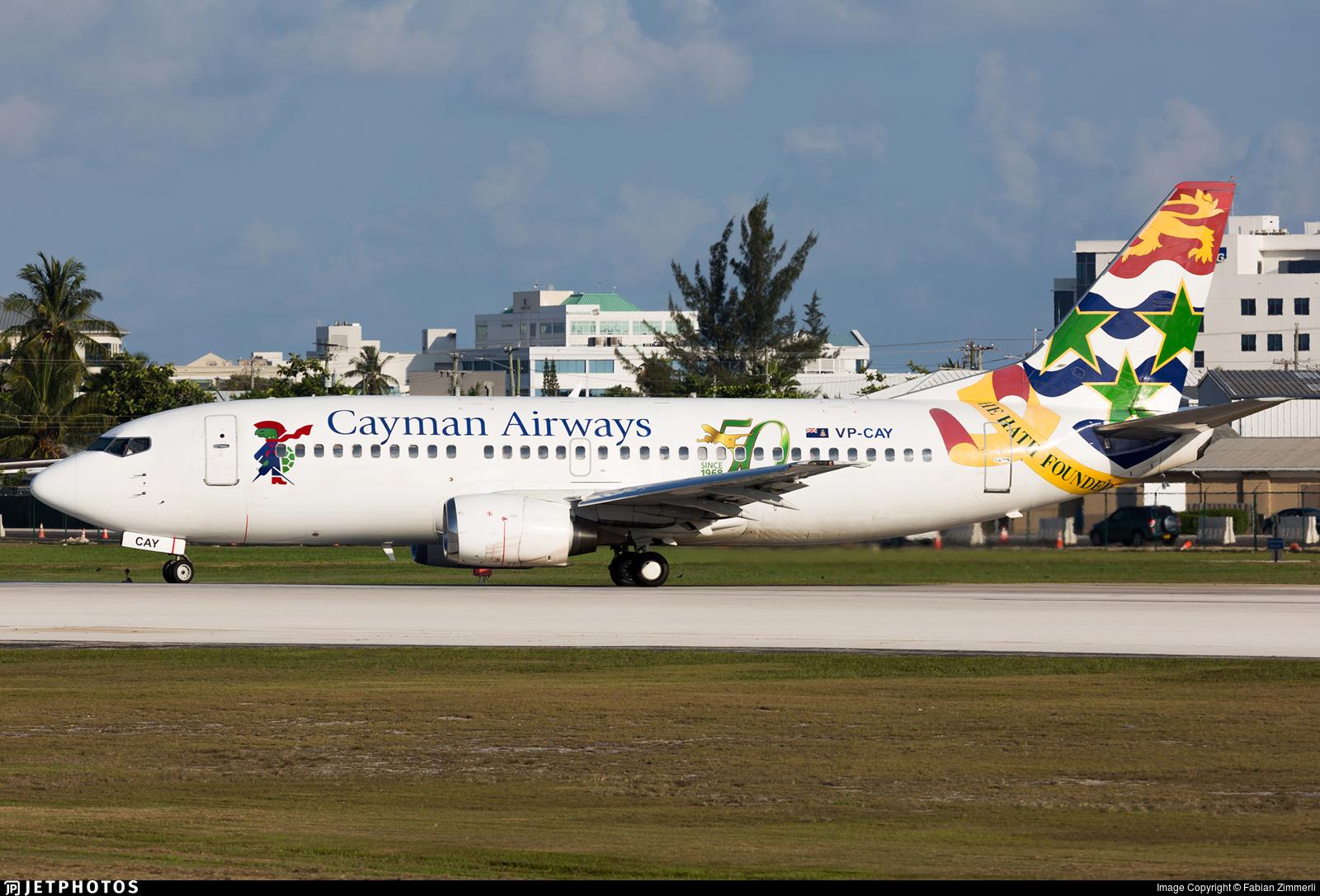 VP-CAY - Boeing 737-3Q8 - Cayman Airways