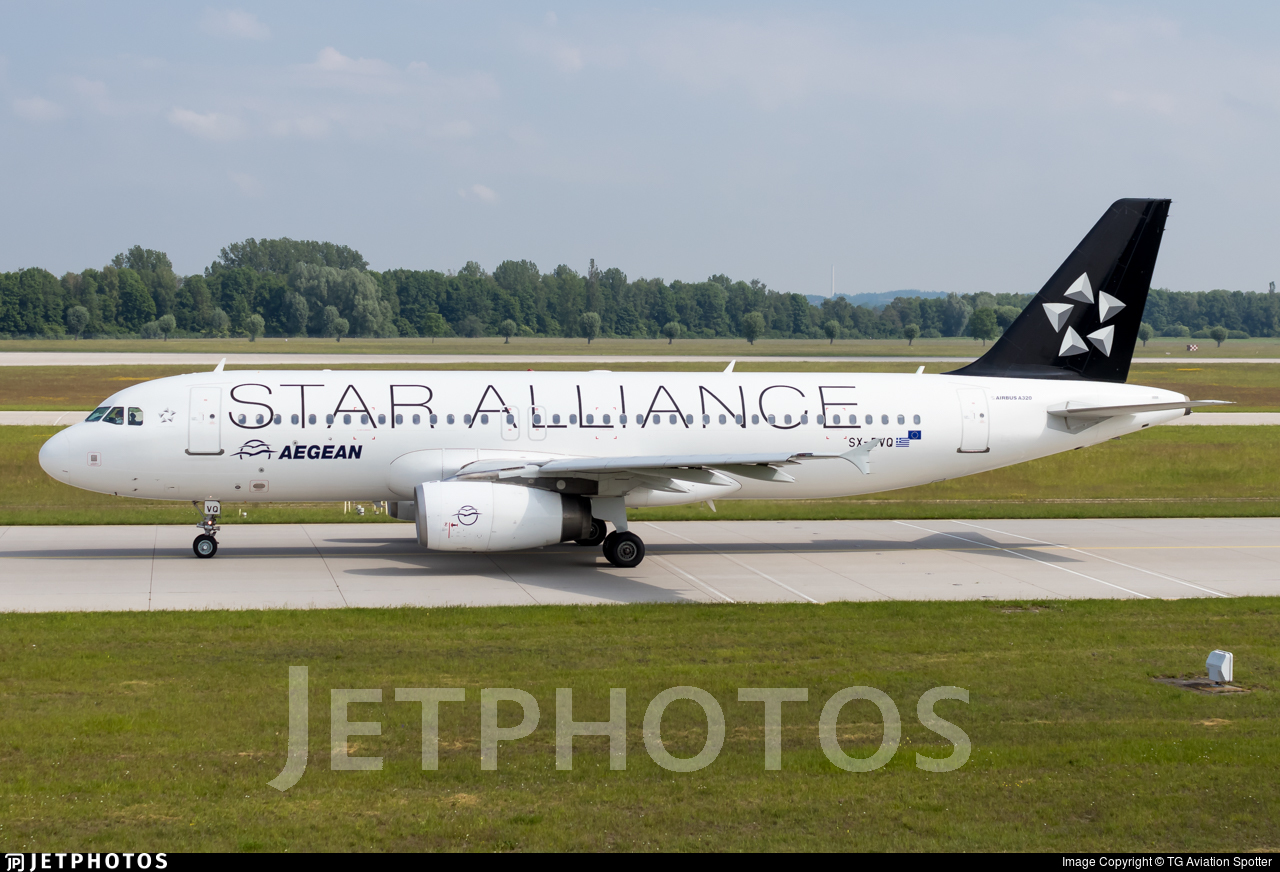 SX-DVQ - Airbus A320-232 - Aegean Airlines