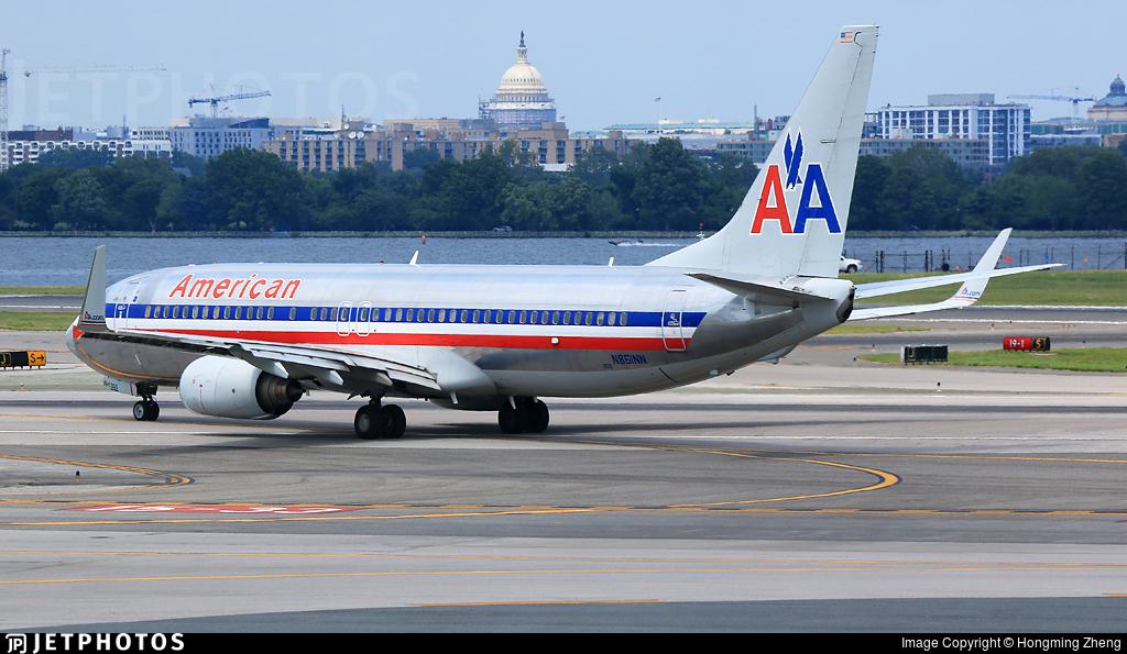 N861NN - Boeing 737-823 - American Airlines