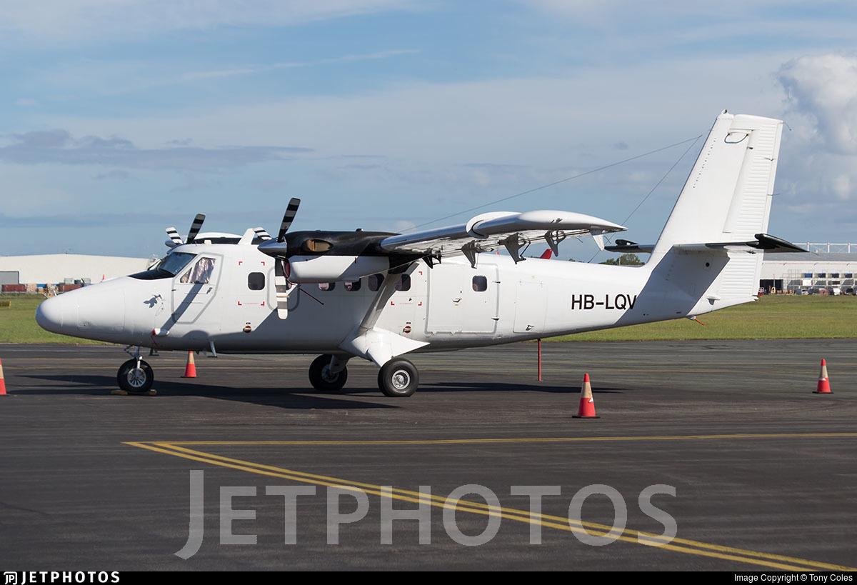 HB-LQV - De Havilland Canada DHC-6-300 Twin Otter - Zimex Aviation