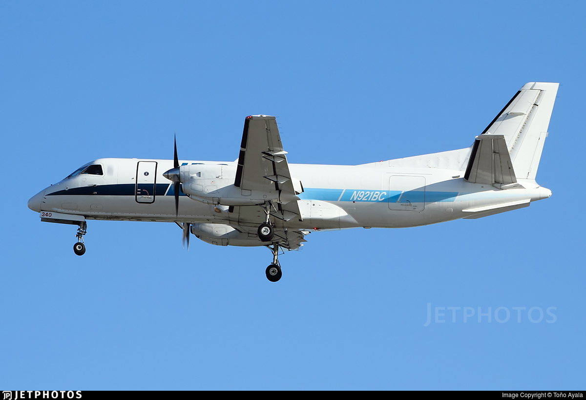N921BC - Saab 340A(F) - IBC Airways
