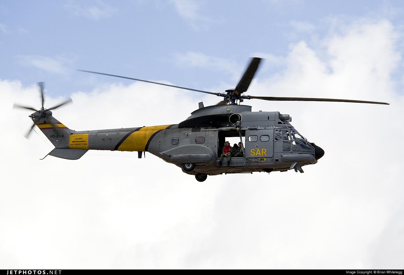 HD.21-4 - Aérospatiale AS 332B Super Puma - Spain - Air Force