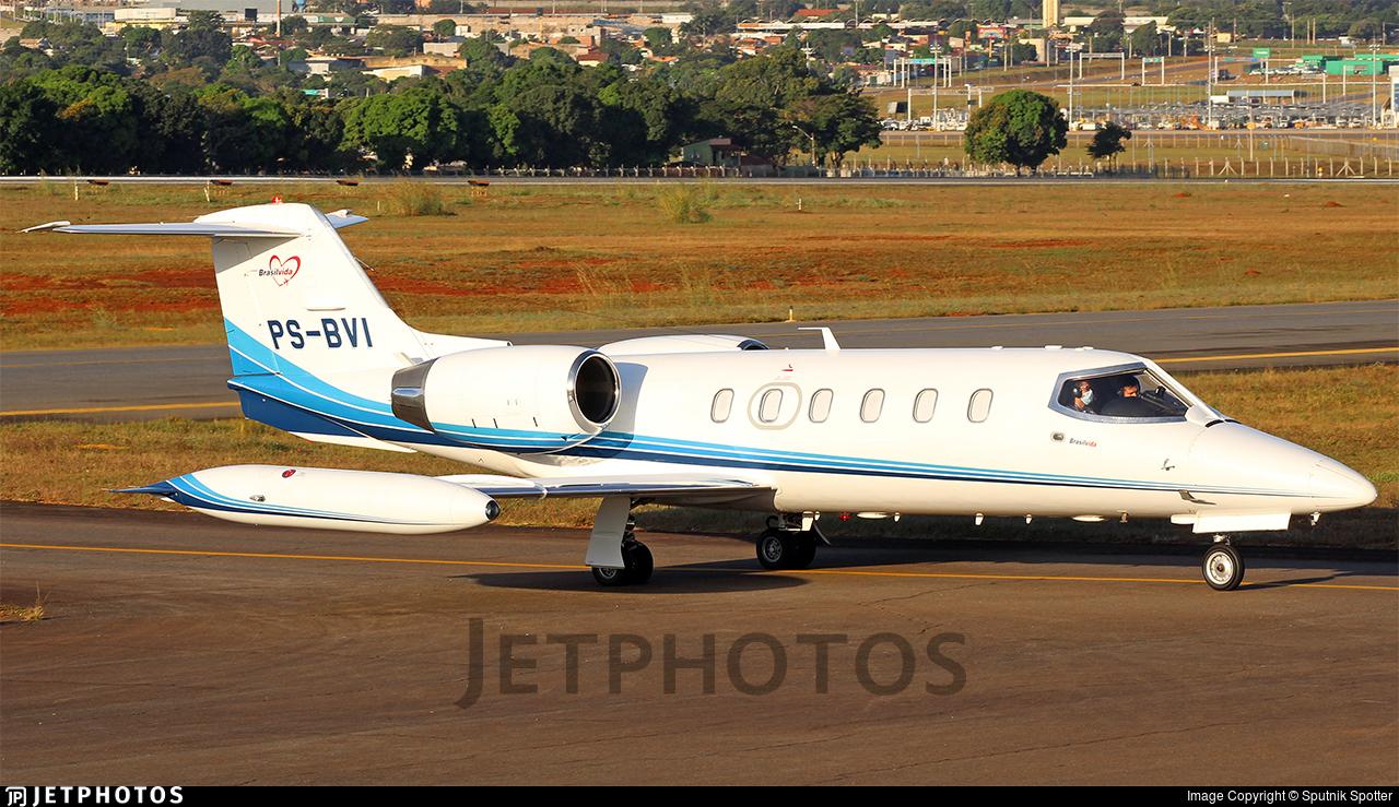 PS-BVI - Gates Learjet 35A - Brasil Vida Taxi Aéreo