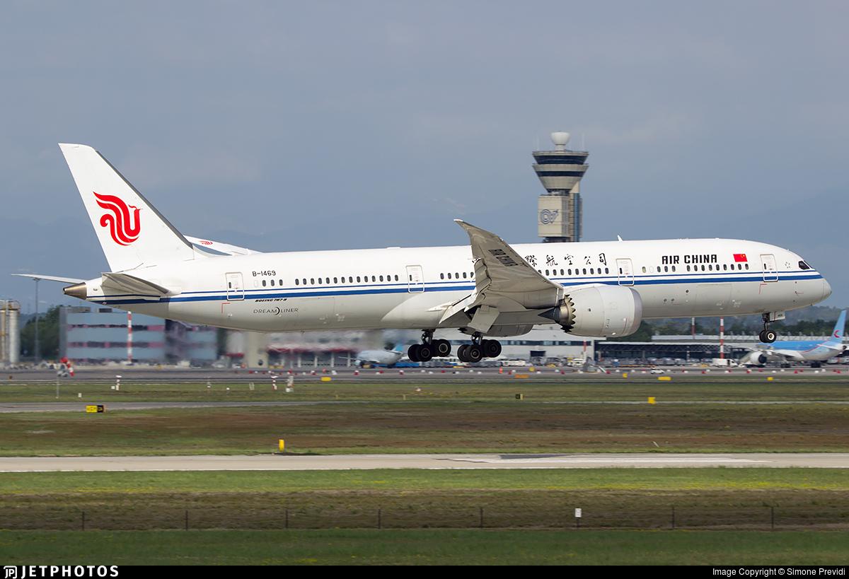 B-1469 - Boeing 787-9 Dreamliner - Air China