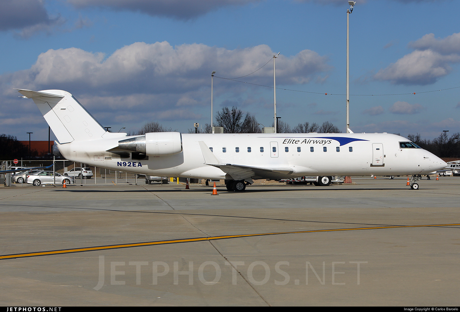 N92EA - Bombardier CRJ-200ER - Elite Airways