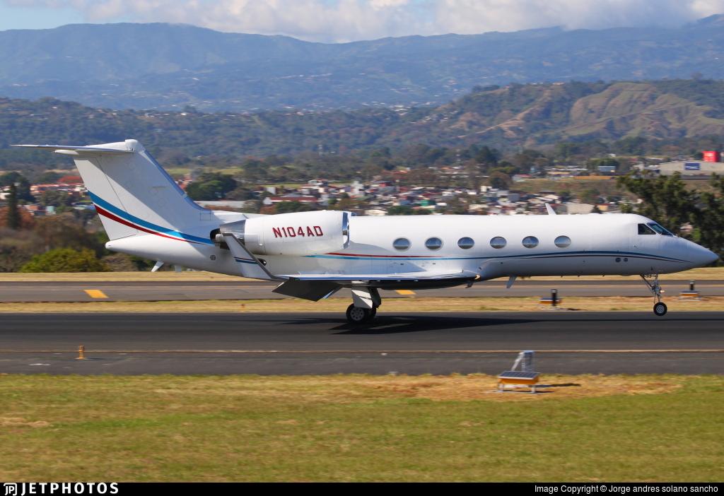 N104AD - Gulfstream G-IV(SP) - Private