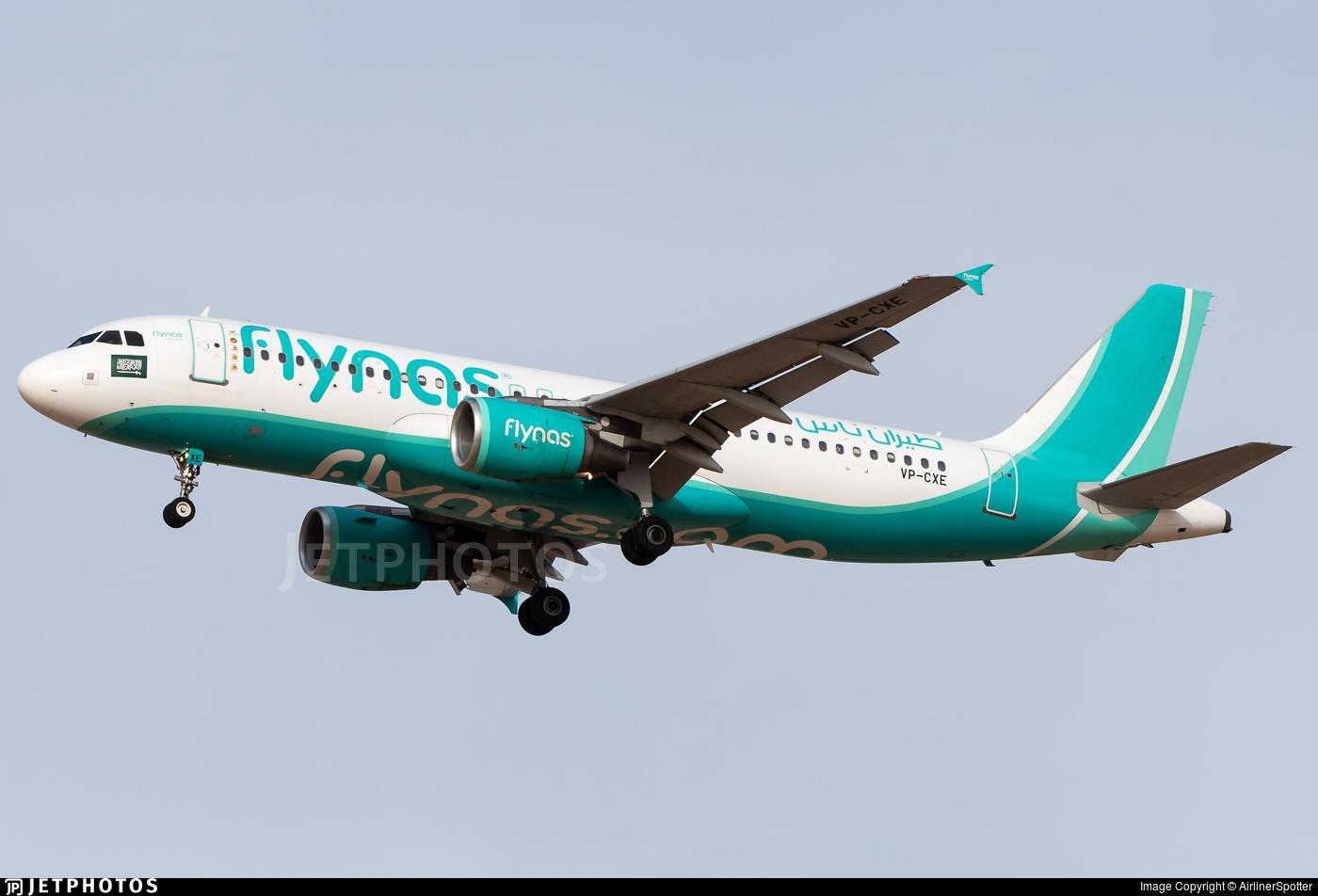 VP-CXE - Airbus A320-214 - Flynas