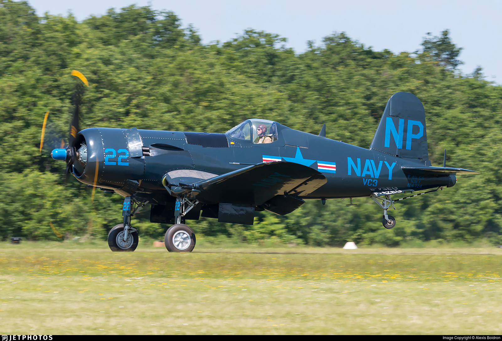F-AZEG - Chance Vought F4U-5NL Corsair - Private