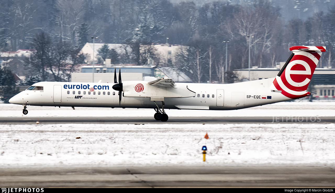SP-EQE - Bombardier Dash 8-Q402 - EuroLOT