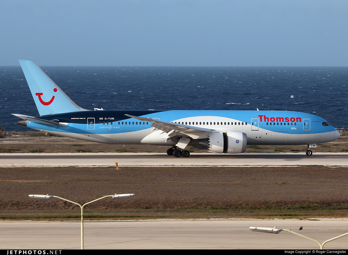 G-TUIB | Boeing 787-8 Dreamliner | Thomson Airways | Roger ...