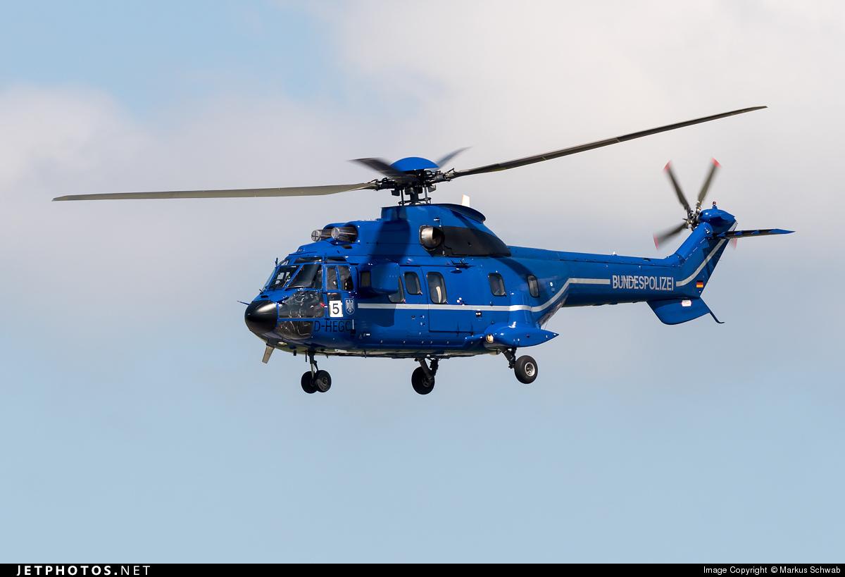 D-HEGC - Aérospatiale AS 332L1 Super Puma - Germany - Bundespolizei