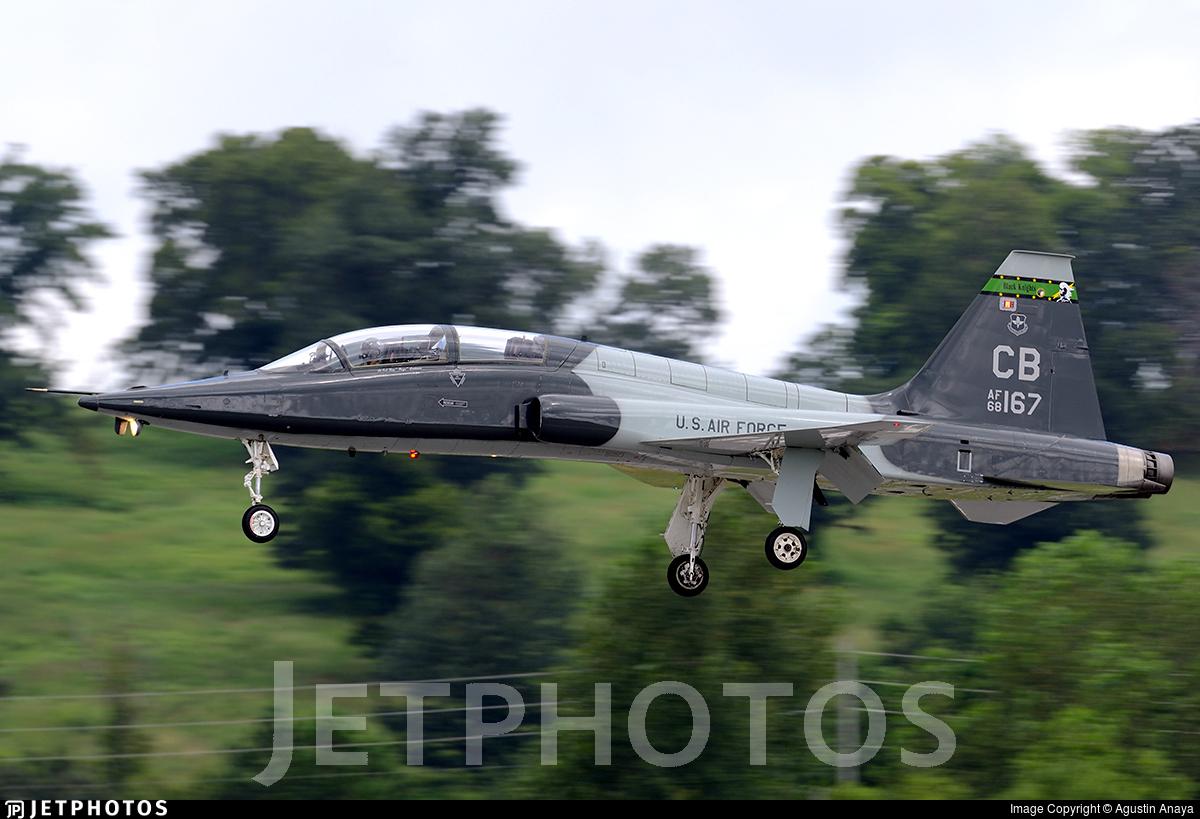 68 8167 northrop t 38c talon united states us air force usaf