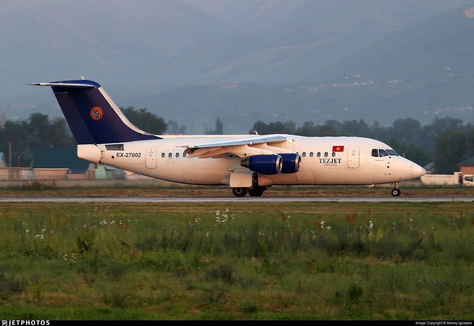 EX-27002 - British Aerospace BAe 146-200 - TezJet Air Company
