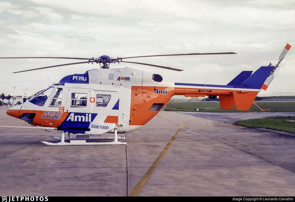 PT-YRJ - Eurocopter BK117C-1 - Aeromil - Amil Resgate Saúde