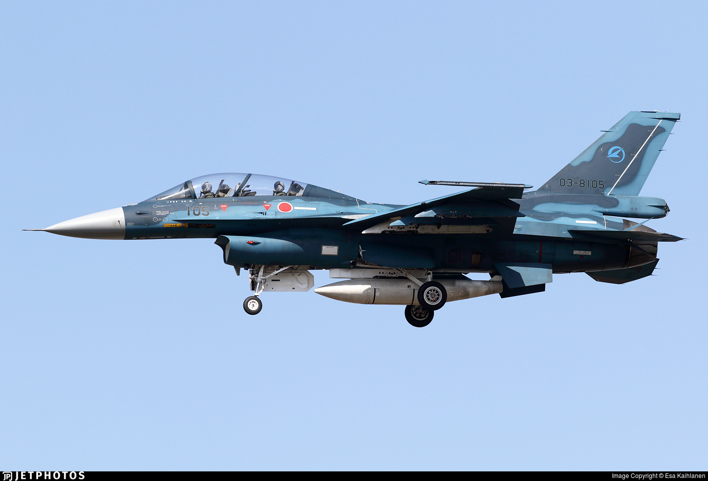 03-8105 - Mitsubishi F-2B - Japan - Air Self Defence Force (JASDF)