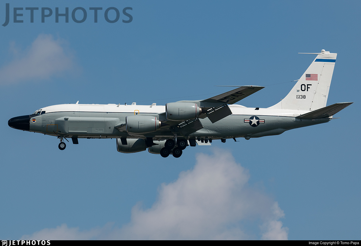 62-4138 - Boeing RC-135W Rivet Joint - United States - US Air Force (USAF)