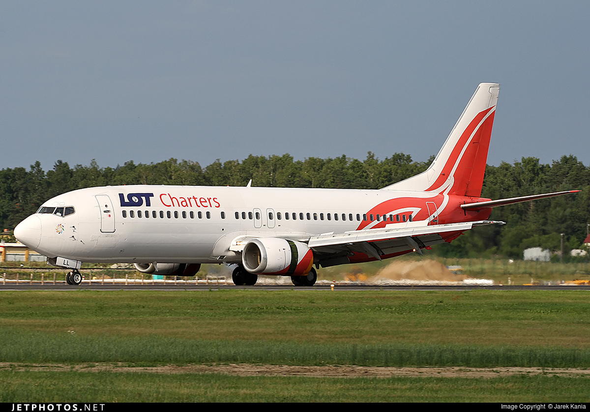 SP-LLL - Boeing 737-4Q8 - LOT Charters