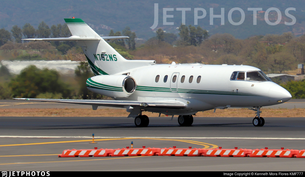 N752NS - Hawker Beechcraft 750 - Private