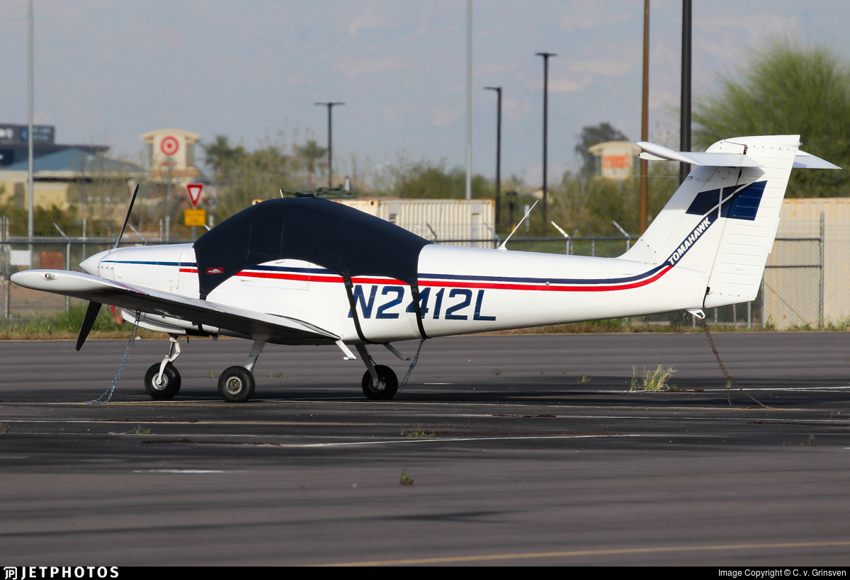 N2412L - Piper PA-38-112 Tomahawk - Private