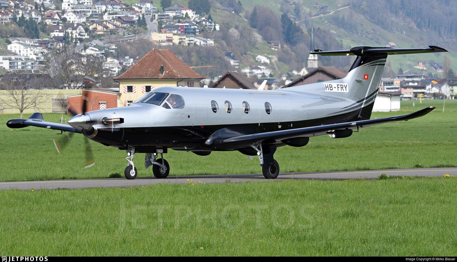 HB-FRY - Pilatus PC-12/47E - Private