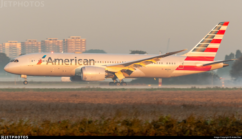 N812AA - Boeing 787-8 Dreamliner - American Airlines