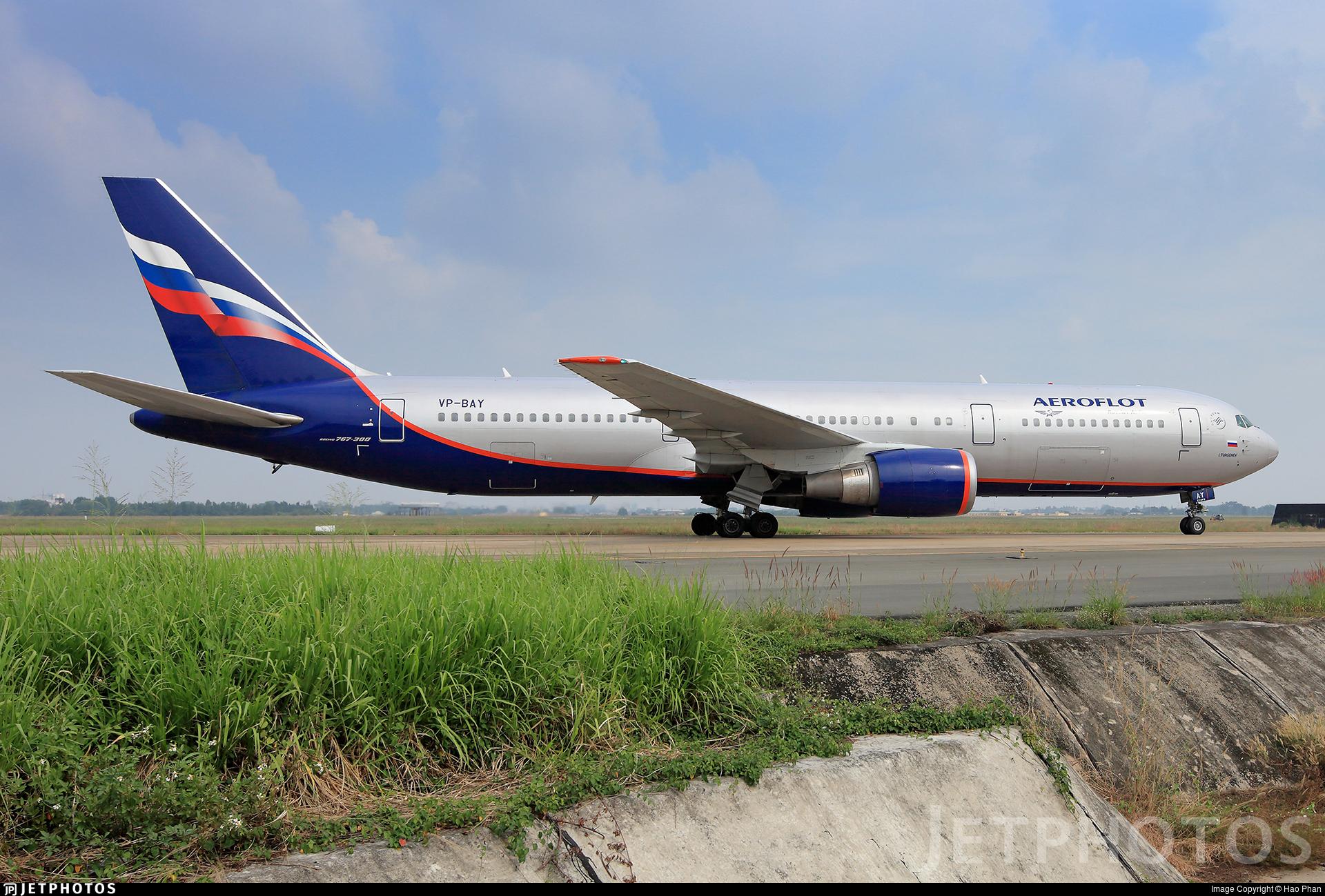 VP-BAY - Boeing 767-36N(ER) - Aeroflot