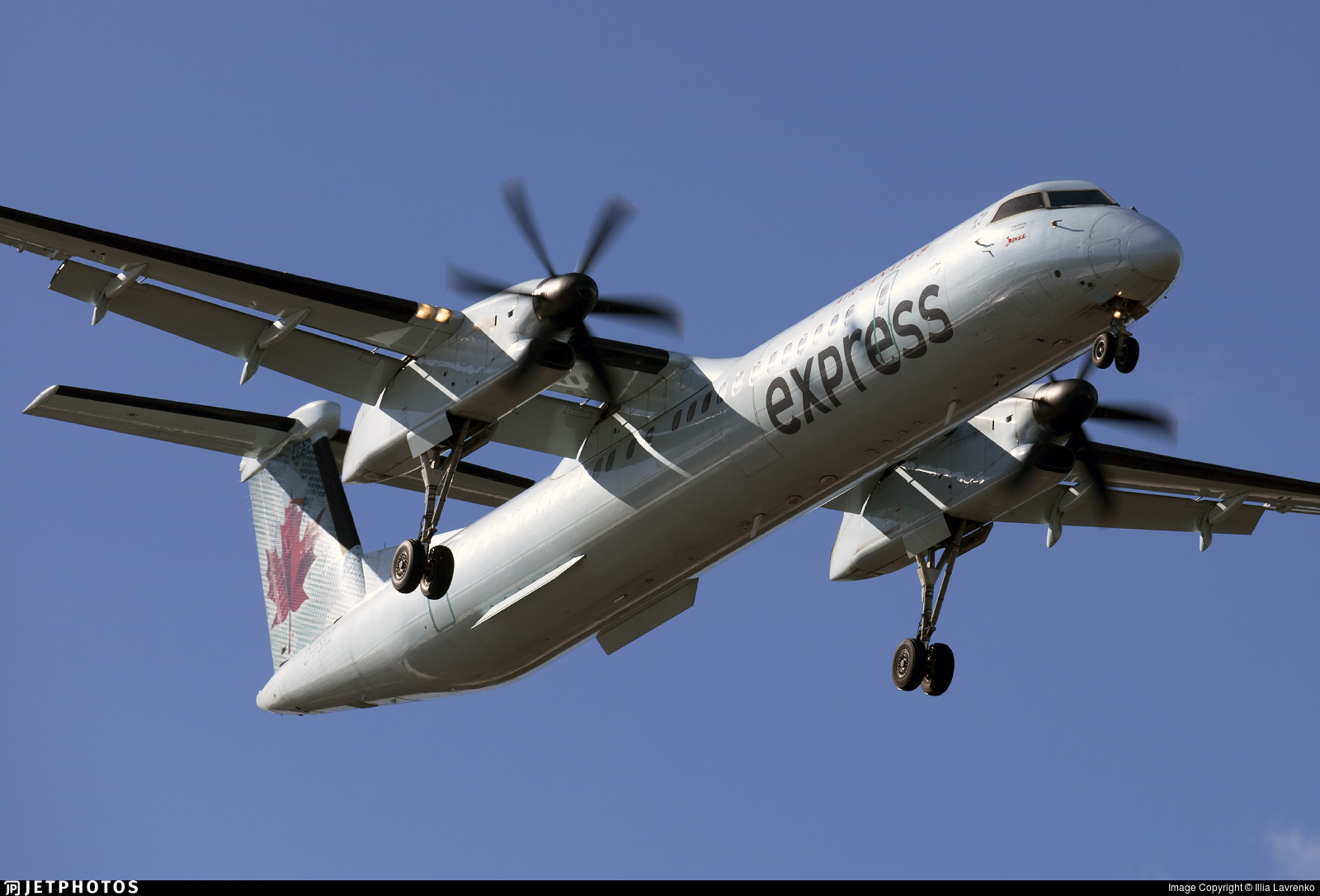 C-FSRZ - Bombardier Dash 8-Q402 - Air Canada Express (Jazz Aviation)