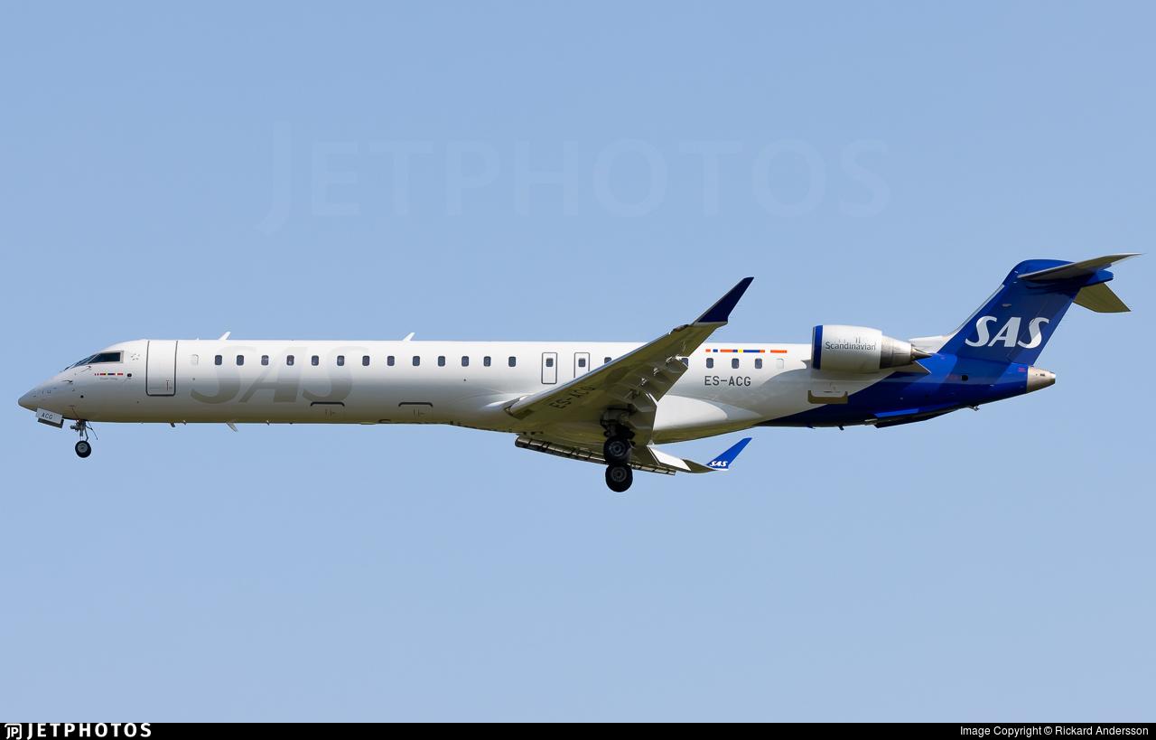 ES-ACG - Bombardier CRJ-900LR - Scandinavian Airlines (Nordica)