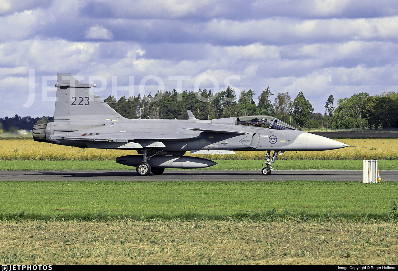 39223 - Saab JAS-39C Gripen - Sweden - Air Force