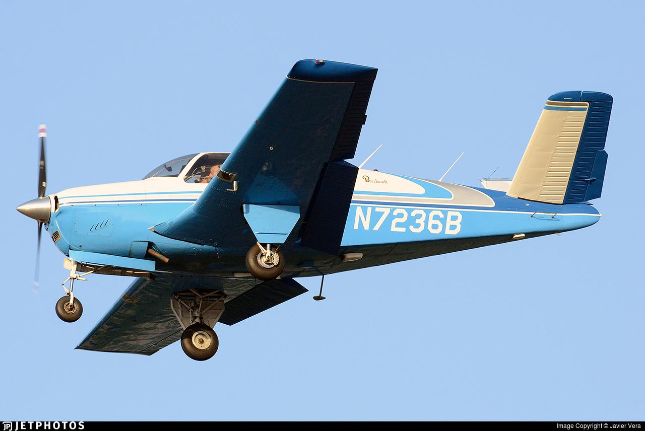 N7236B - Beechcraft J35 Bonanza - Private