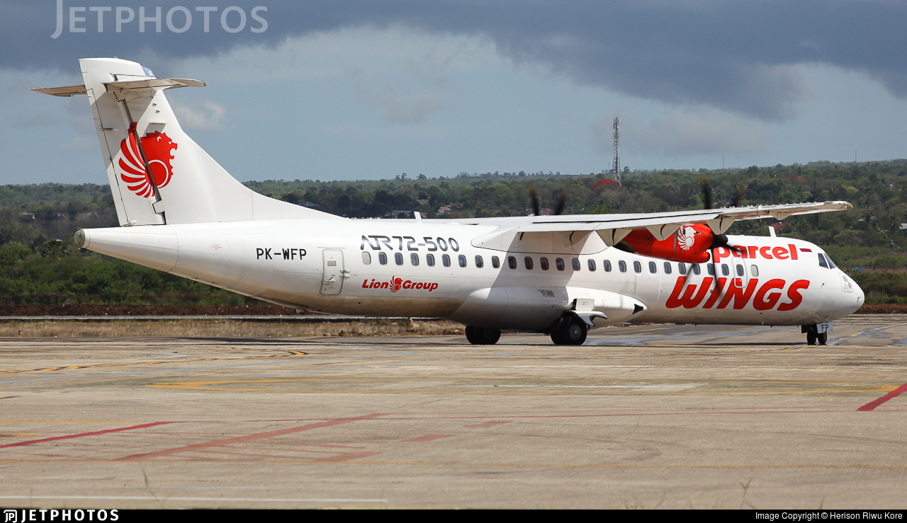PK-WFP - ATR 72-212A(500) - Wings Air