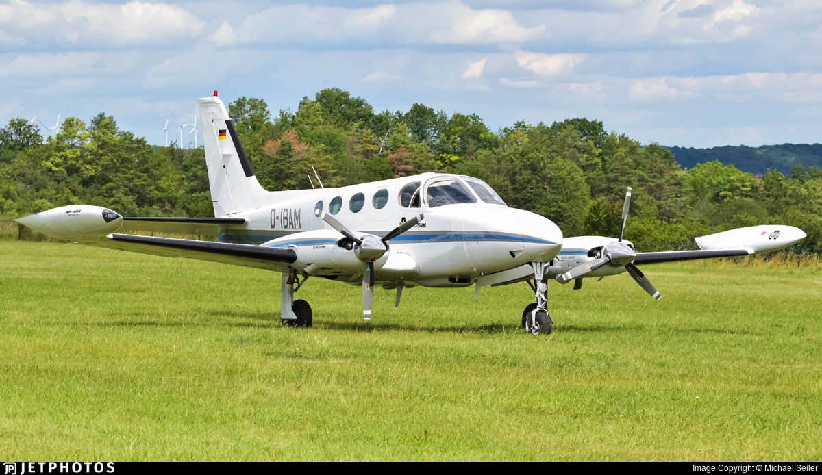 D-IBAM - Cessna 340A - Private