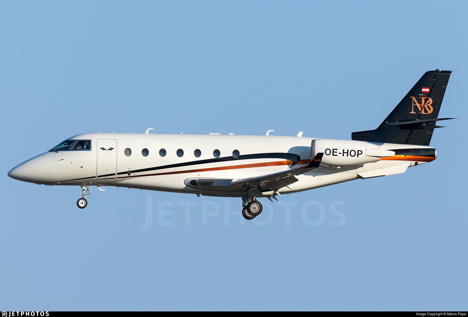 OE-HOP - Gulfstream G200 - Avcon Jet