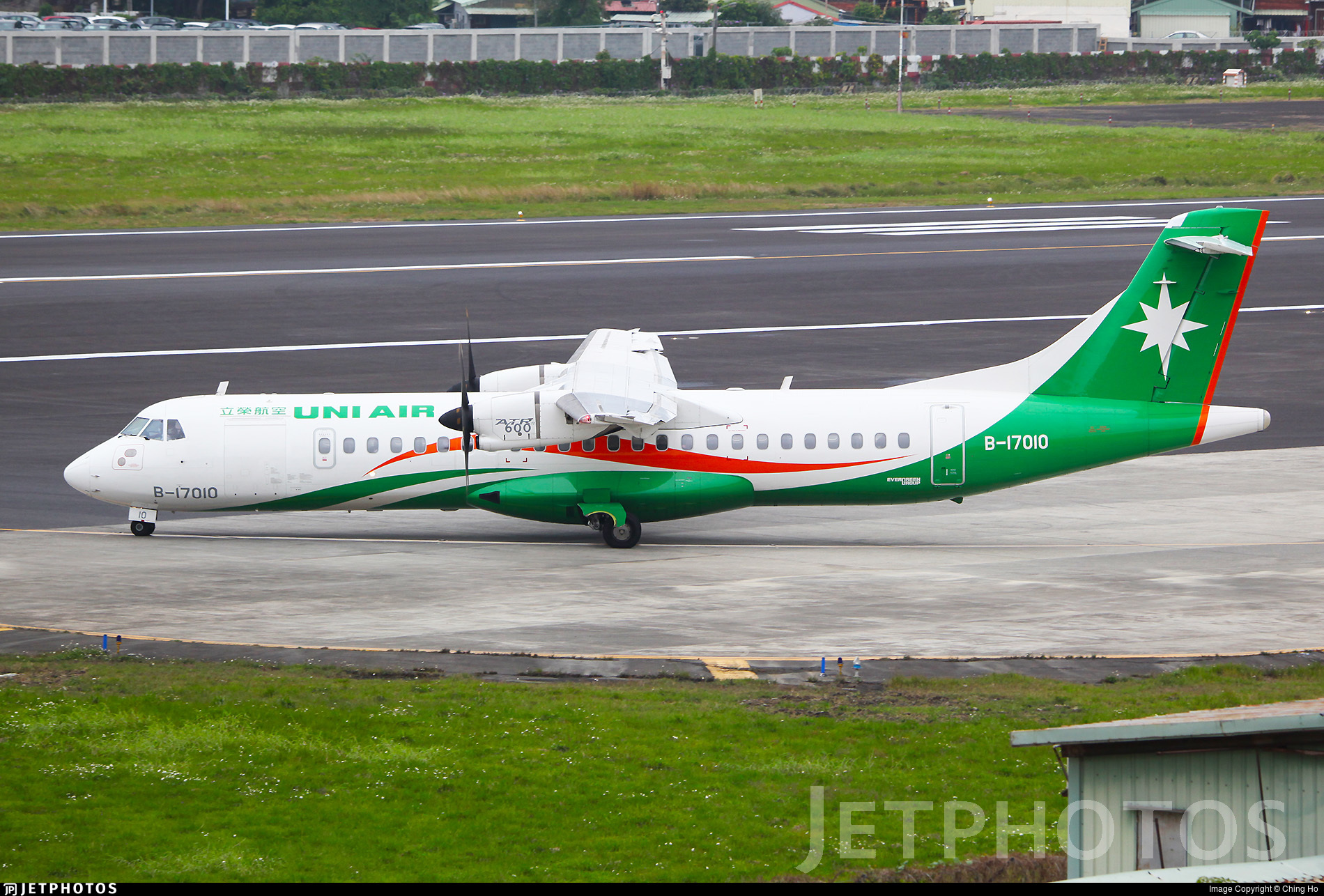 B-17010 - ATR 72-212A(600) - Uni Air