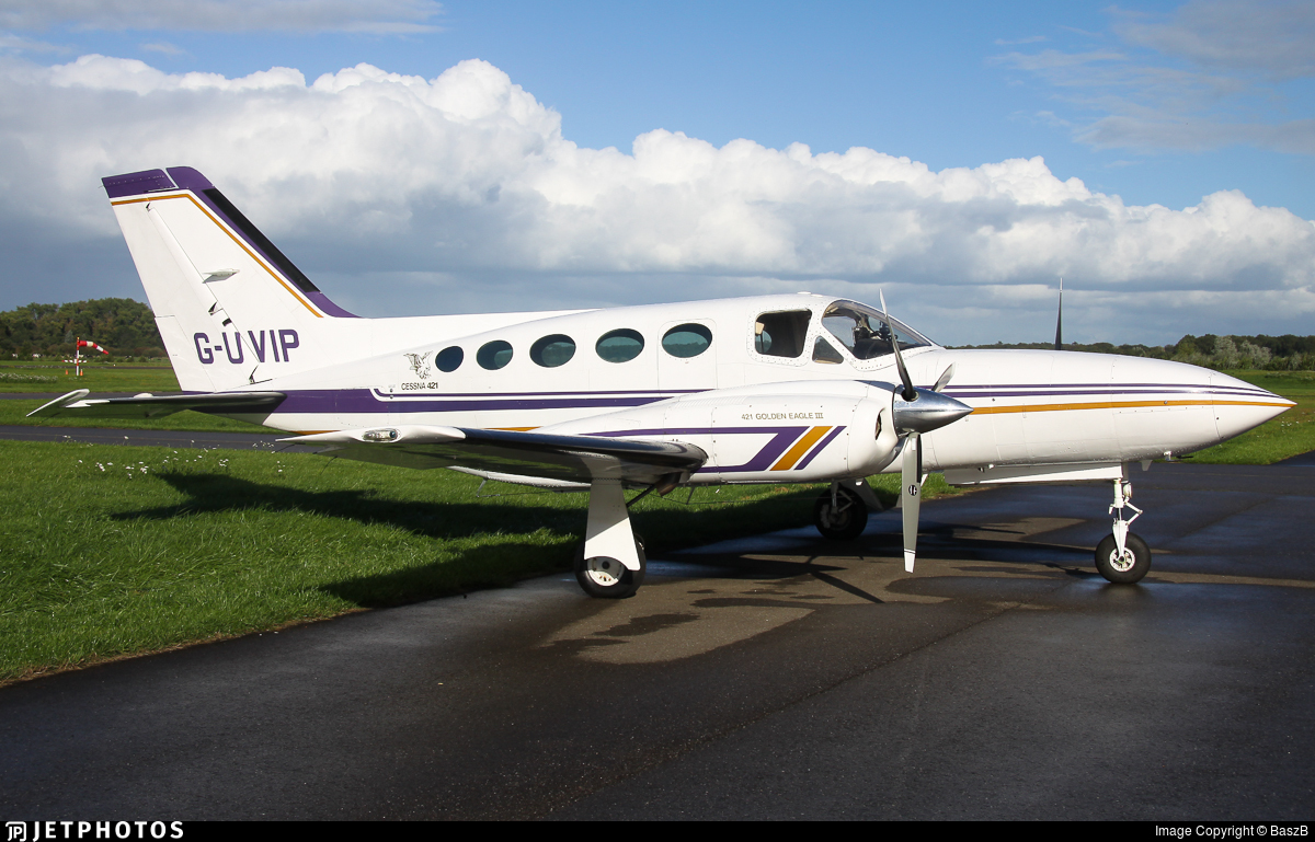 G-UVIP - Cessna 421C Golden Eagle - Capital Airlines