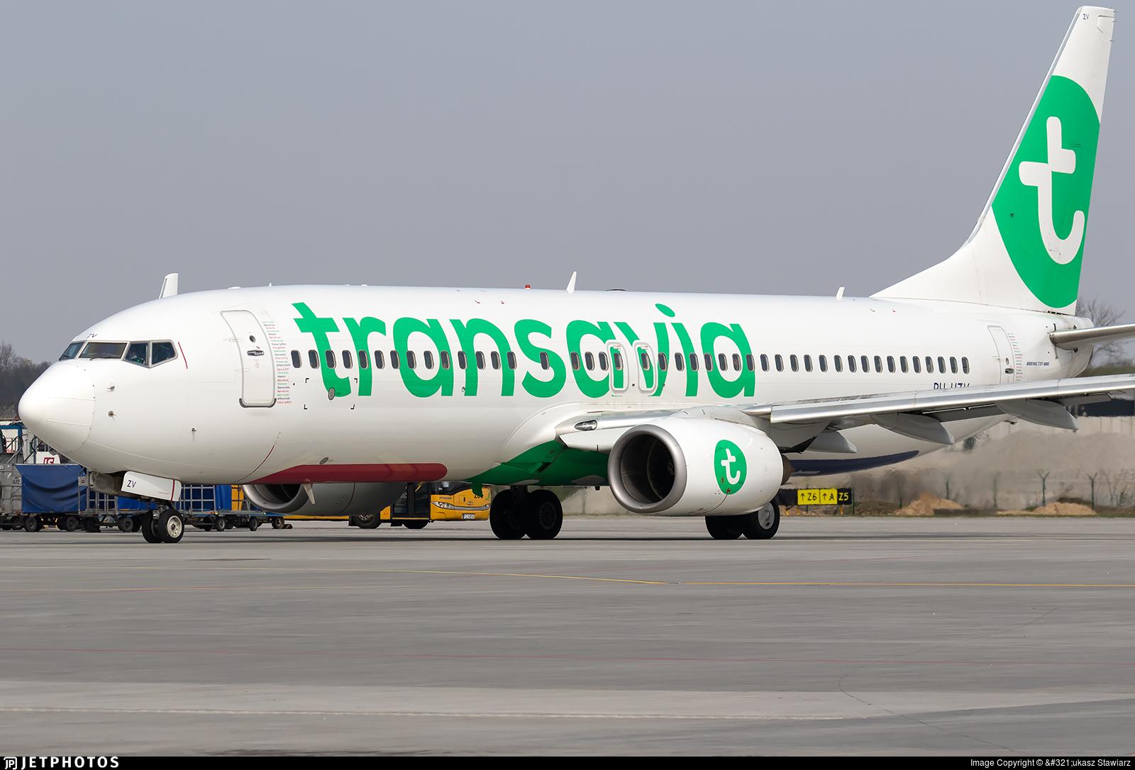 PH-HZV - Boeing 737-8K2 - Transavia Airlines