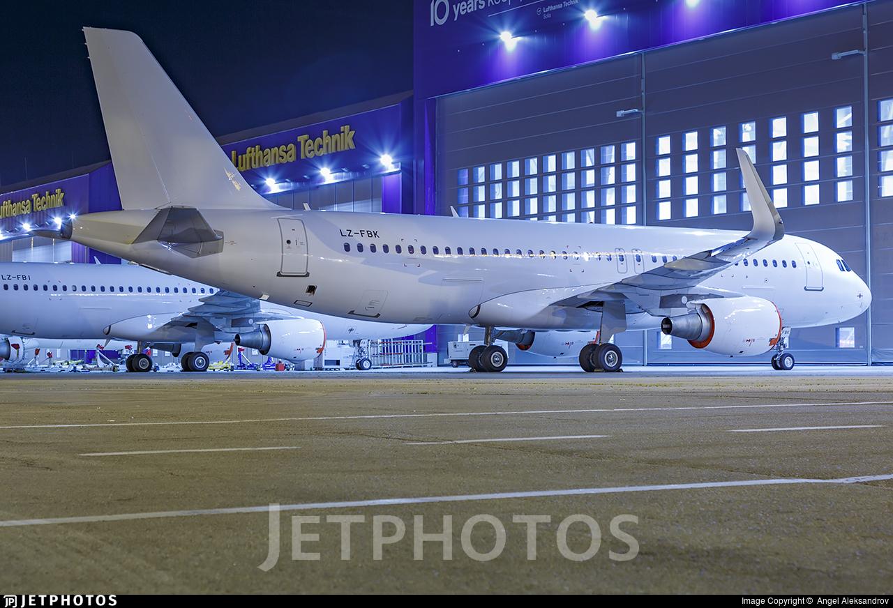 LZ-FBK - Airbus A320-214 - Bulgaria Air