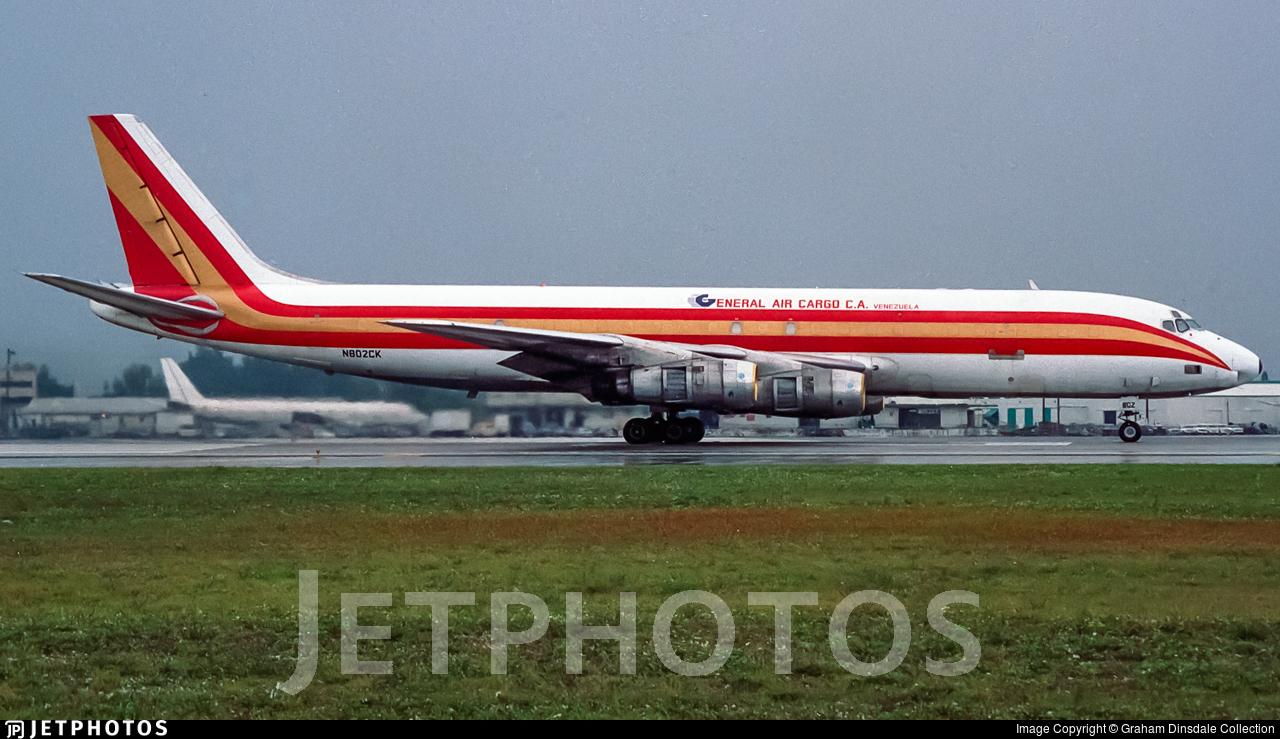 N802CK - Douglas DC-8-54(F) - General Air Cargo