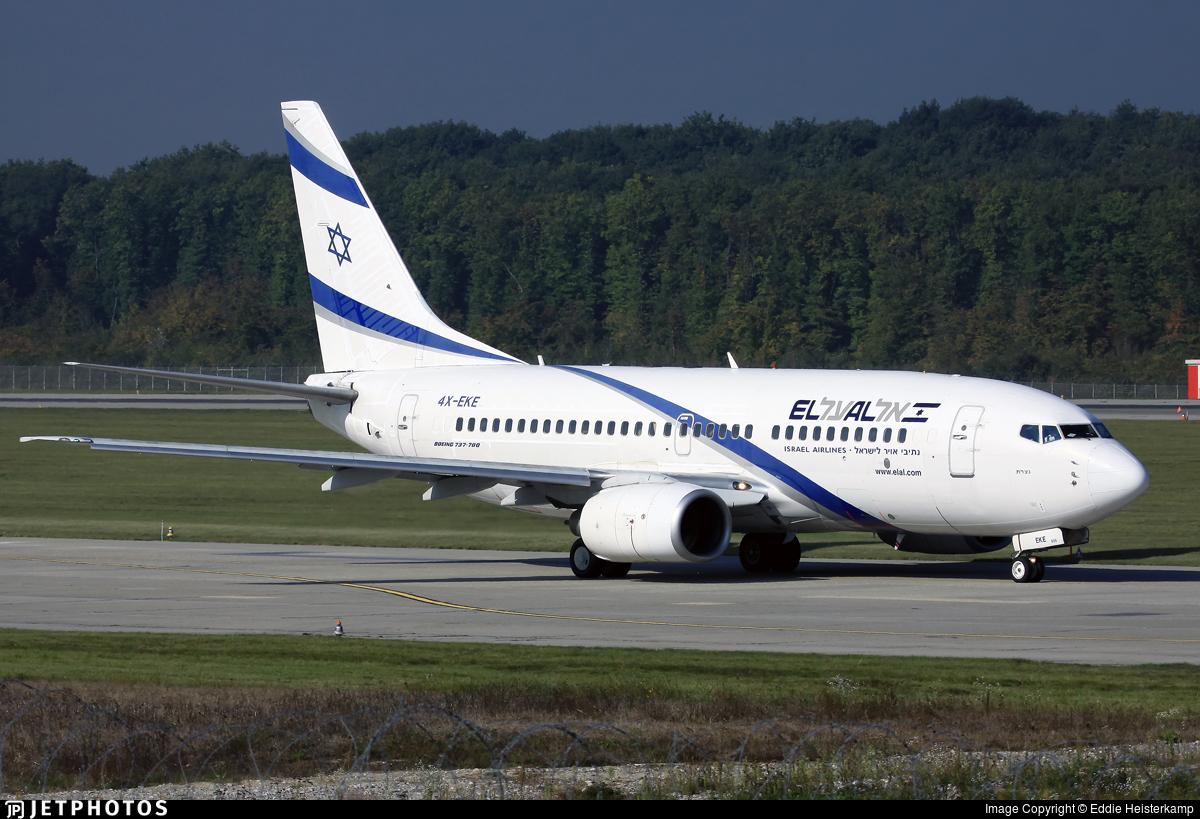 4X-EKE - Boeing 737-758 - El Al Israel Airlines