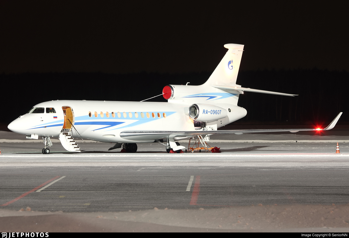RA-09607 - Dassault Falcon 7X - Gazpromavia