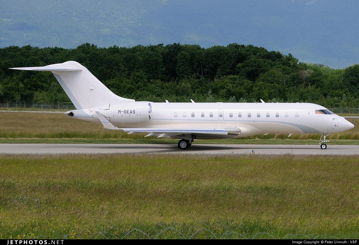 M-SEAS - Bombardier BD-700-1A11 Global 5000 - Jana Aviation