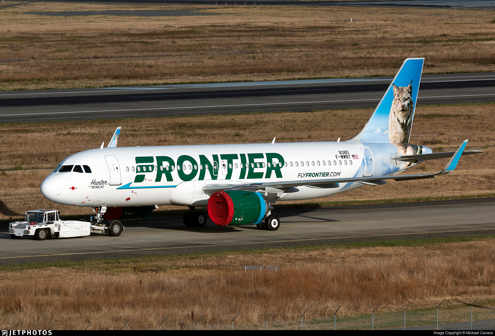 F-WWBY - Airbus A320-251N - Frontier Airlines