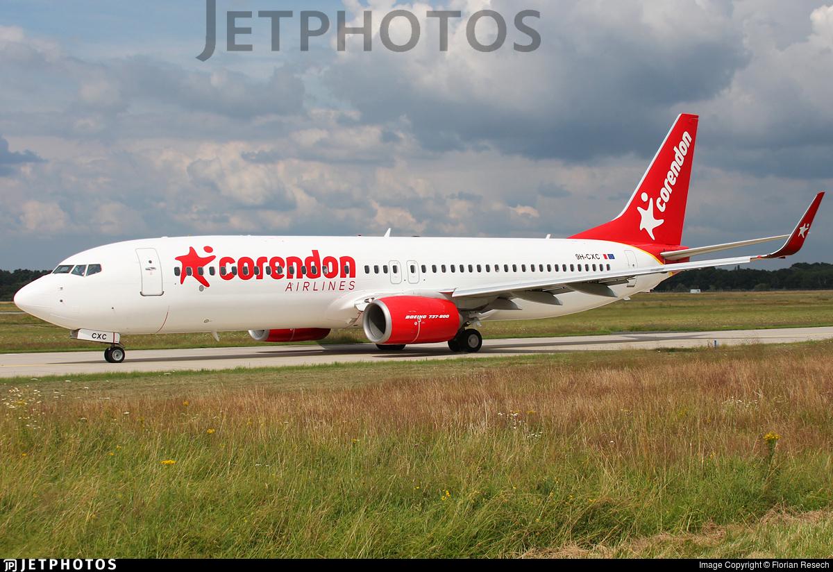 9H-CXC - Boeing 737-8JP - Corendon Airlines Europe