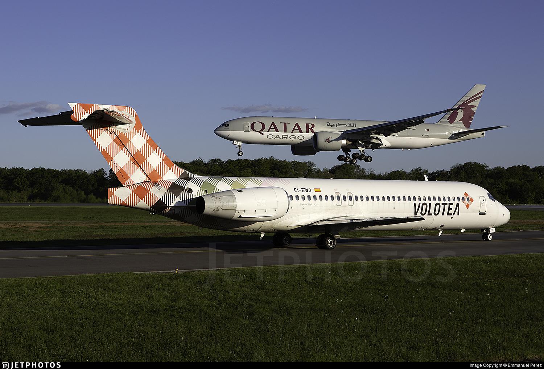 EI-EWJ - Boeing 717-2BL - Volotea